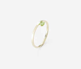[PRECIOUS] Birthstone Ring Peridot - August