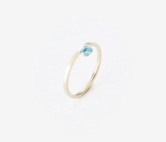 [PRECIOUS] Birthstone Ring Topaz - November